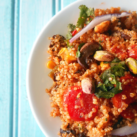 One Pot Healthy Dinner with Quinoa
