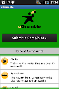 uGrumble Public Transport - screenshot