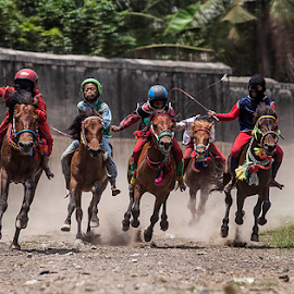 Horse Racing by Koes Nadi - Sports & Fitness Other Sports