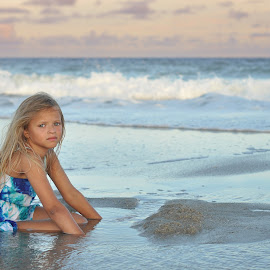 Evening at The Beach by Teri Salvino - Babies & Children Child Portraits
