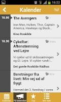 Screenshot of Roskilde LIVE