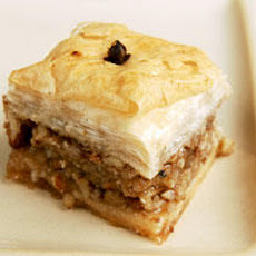 Almond and Walnut Baklava  Recipe