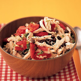 Chicken, Rice, and Black-Bean Salad