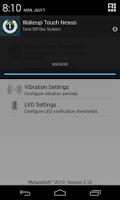 Screenshot of Wakeup Touch Nexus