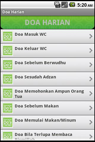 doa-harian-old for android screenshot