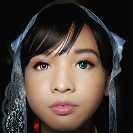 Suiseiseki by Ikrom Sembiring - People Portraits of Women