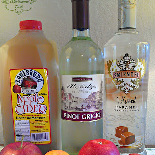 Caramel Apple Sangria