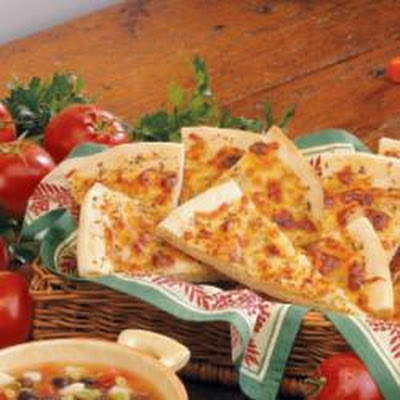 Italian Bread Wedges