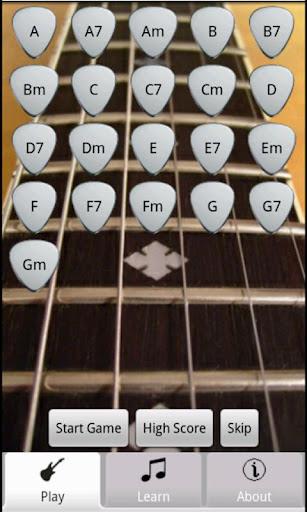 GuitarChord Quiz