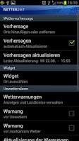 Screenshot of wetter.net