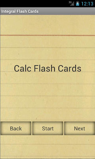 Calculus Integral Flashcards