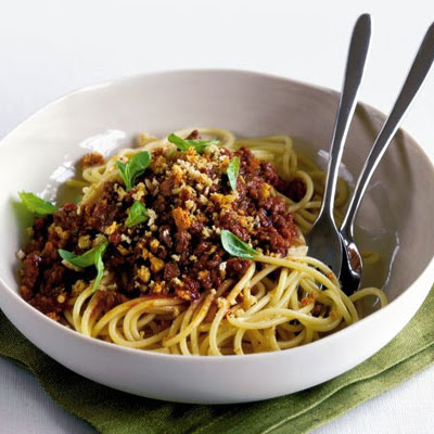 So-simple spaghetti Bolognese