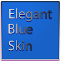 Elegant Blue Keyboard Skin icon