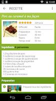 Screenshot of Cuisine : 40 000 recettes