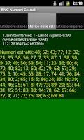 Screenshot of Random Number Generator RNG
