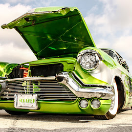 Mean Green by Randy Belt - Transportation Automobiles ( classic car, cars, automobile, hot rod )
