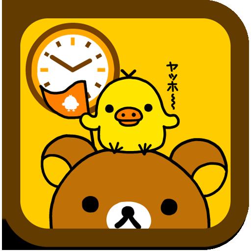 Rilakkuma Clock Widget 3 LOGO-APP點子