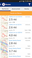 Screenshot of MapMyFitness+ Workout Trainer