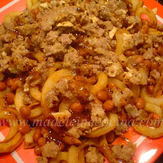 Potato and Bean French Fries