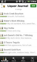Screenshot of Liquor + (Whiskey Vodka Rum..)
