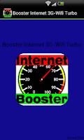 Screenshot of Booster Internet 3G-Wifi Turbo