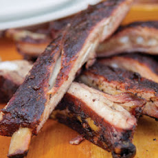 Grilled Peppered Dry Spareribs