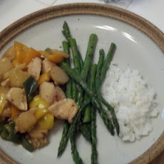 Thai Chicken and Pineapple