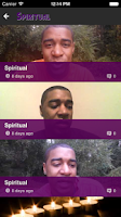 Screenshot of Spiritual