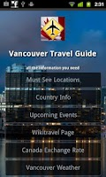 Screenshot of Vancouver Travel Guide
