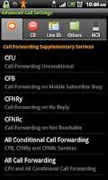 Screenshot of Advanced Call Settings