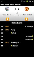 Screenshot of World Cup Football Live Score