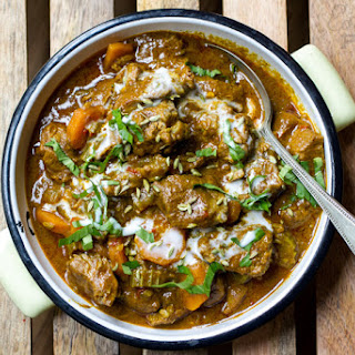 Scrummy Coconut Lamb Curry