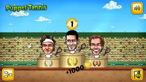 Puppet Tennis-Forehand topspin - screenshot