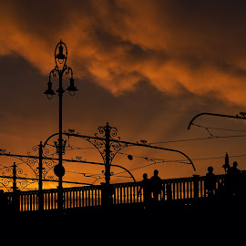 BUDAPEST'S LIGHT by Tonino De Rubeis - City,  Street & Park  Historic Districts