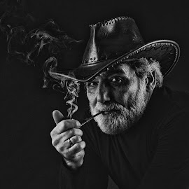 Like Hemingway by Maya Angelova-Miteva - People Portraits of Men (  )