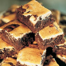 Warm Cream-Cheese Brownies