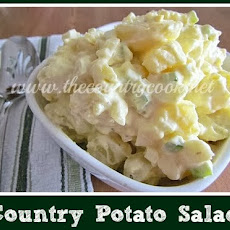 Country Potato Salad and My First Cookbook