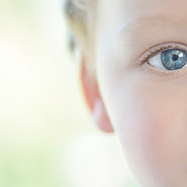 baby's got blue eyes by Tanli Lundgren - Babies & Children Child Portraits (  )