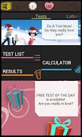 Screenshot of Love: Test Me