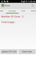 Screenshot of XCore - Save Battery Smartly