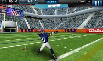 Screenshot of NFL Pro 2012