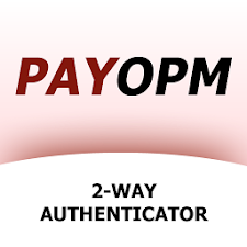 PAYOPM 2-way authenticator