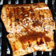 Easy Balsamic-Honey-Mustard Glazed Salmon