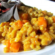Farro Risotto With Butternut Squash
