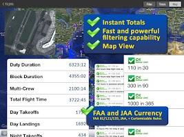 Screenshot of Safelog Pilot Logbook