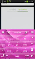 Screenshot of Keypad Themes Pink