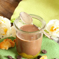 Chocolate and Orange Cream Jars and Adorable Easter Bunnies