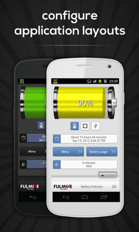 Battery Indicator Pro Screenshot 2