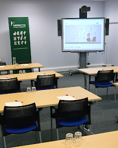 Conference room classroom style, Duddingston Yards Edinburgh