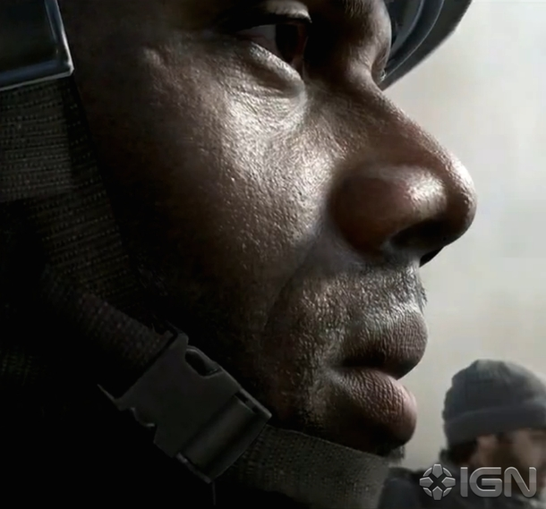 First screen of Sledgehammer's  Call Of Duty title appears
